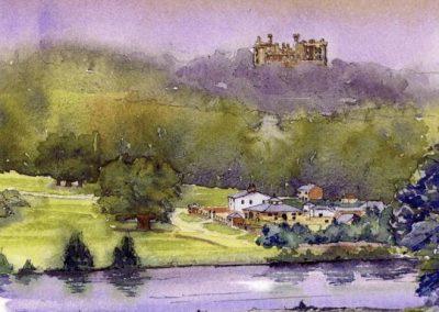 Belvoir Castle and Hunt kennels