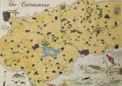 Cottesmore Hunt Map