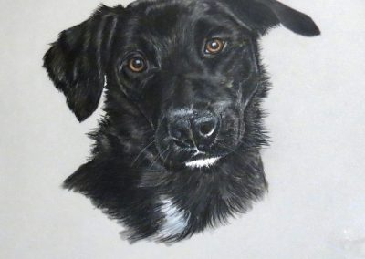 Mabel, pastel SOLD